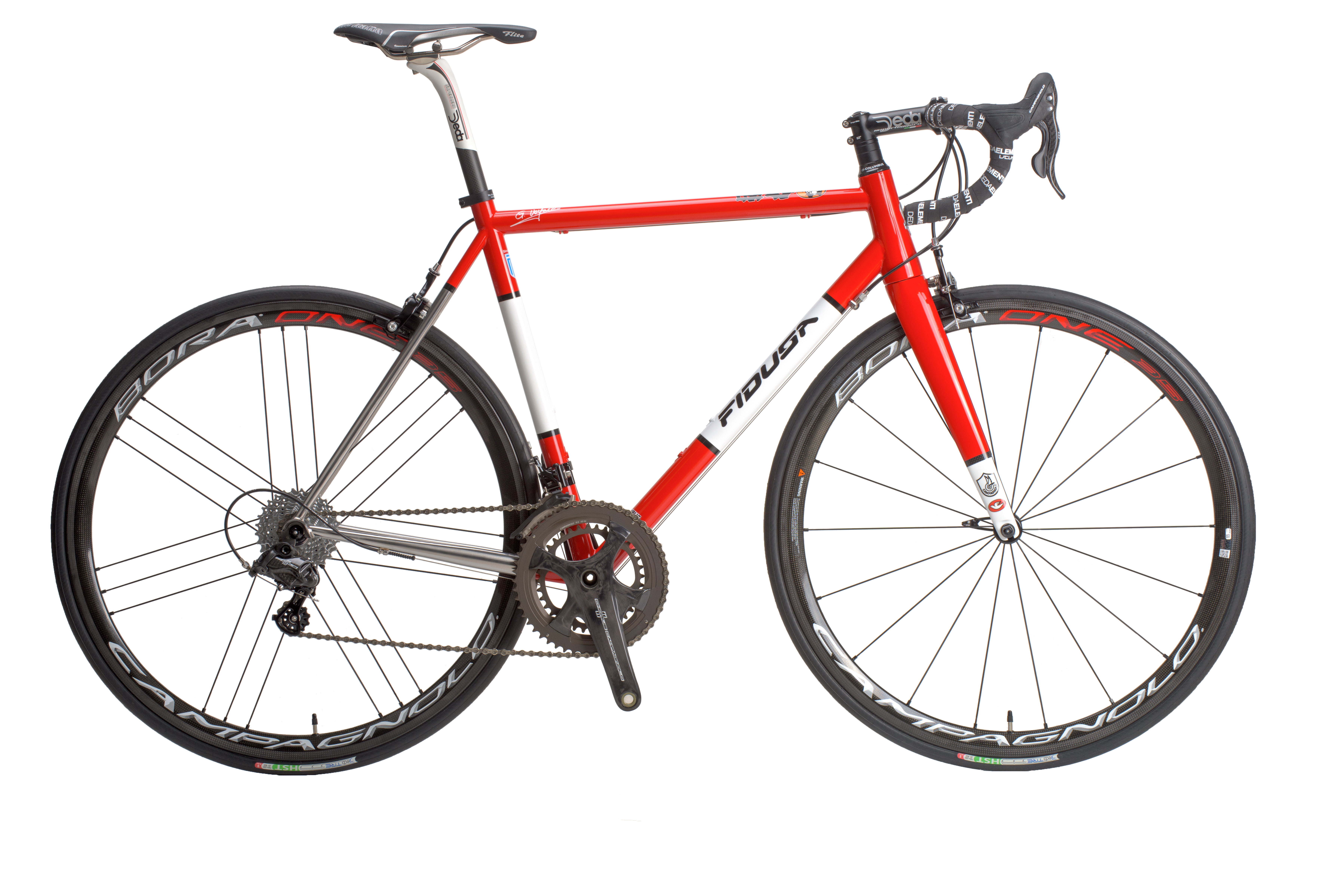 INOX-RED-LAND-clear Columbus XCR Stainless Steel Road Bike - Dimitris