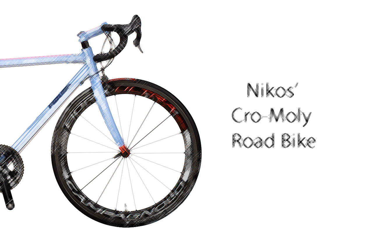 CR-MO-BLUE-ORANGE-land-SKETCH-ENG Nikos' Cro-Moly Road Race Bike