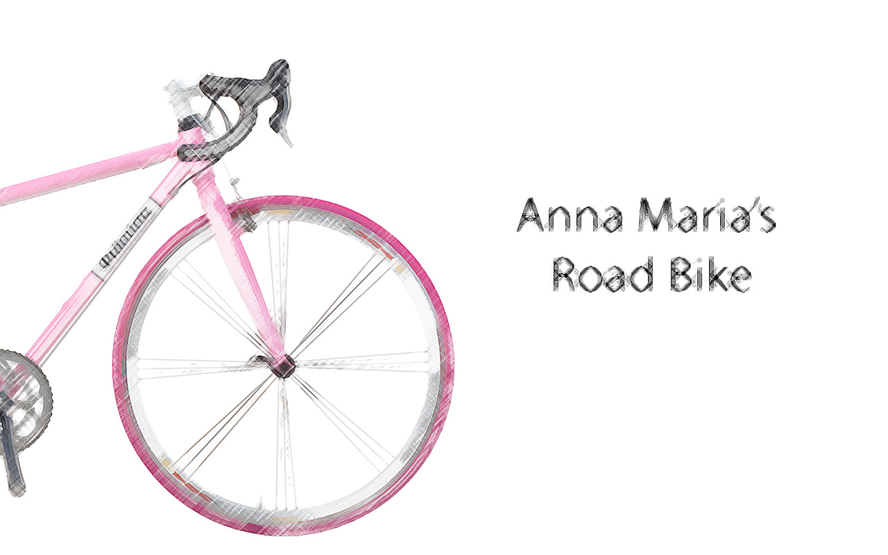 CR-MO-PINK-BIKE-LAND-scetch-ENG Anna Maria's Road Bike
