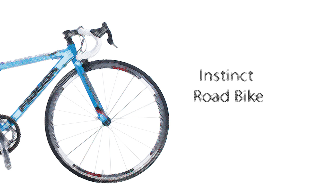 INSTINCT-BLUE-SCETCH-ENG Fidusa Instinct Road Bike