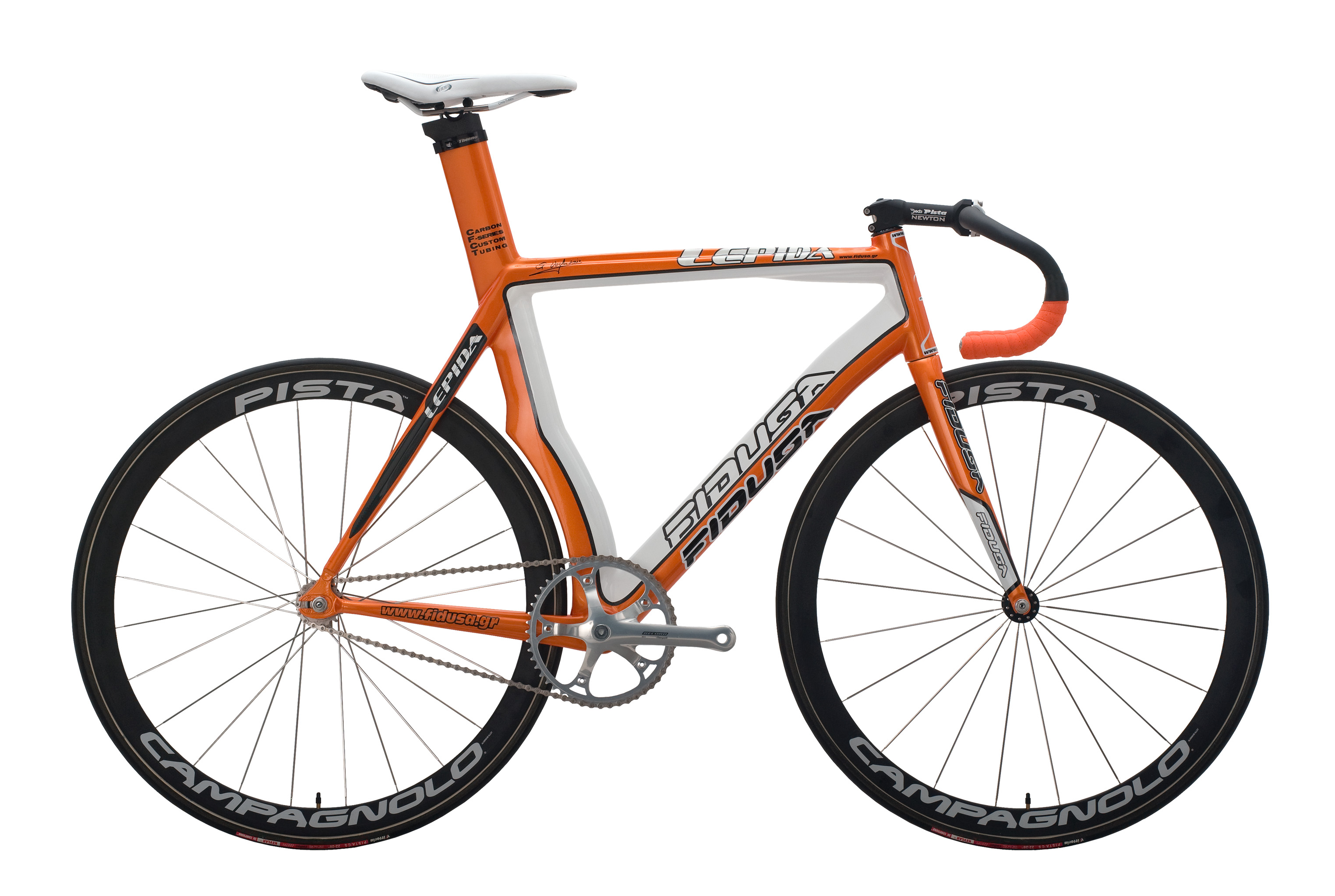 Lepida-pista-orange_09 Pista Lepida / Lepida custom carbon track bike