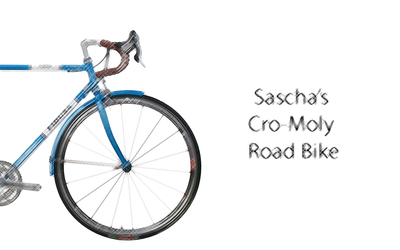 Sascha-SCETCH-ENG Sasha's Cro-Mo 1980 Road Bike