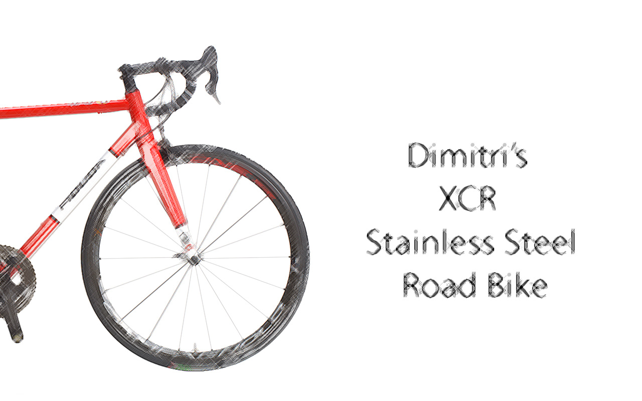 inox-scetch-ENG Columbus XCR Stainless Steel Road Bike - Dimitris