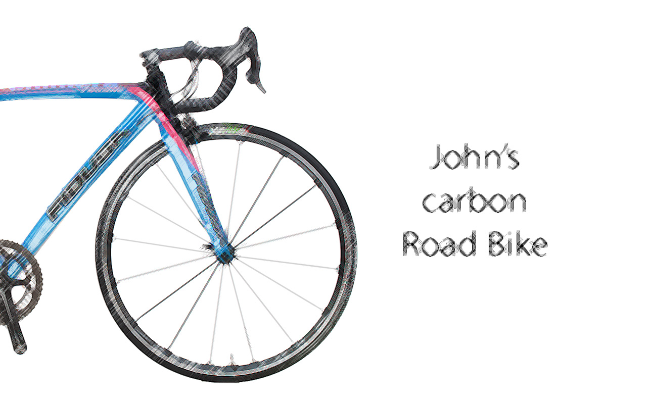 Chimera-scetch-EN John's Chimera Carbon Road Bike
