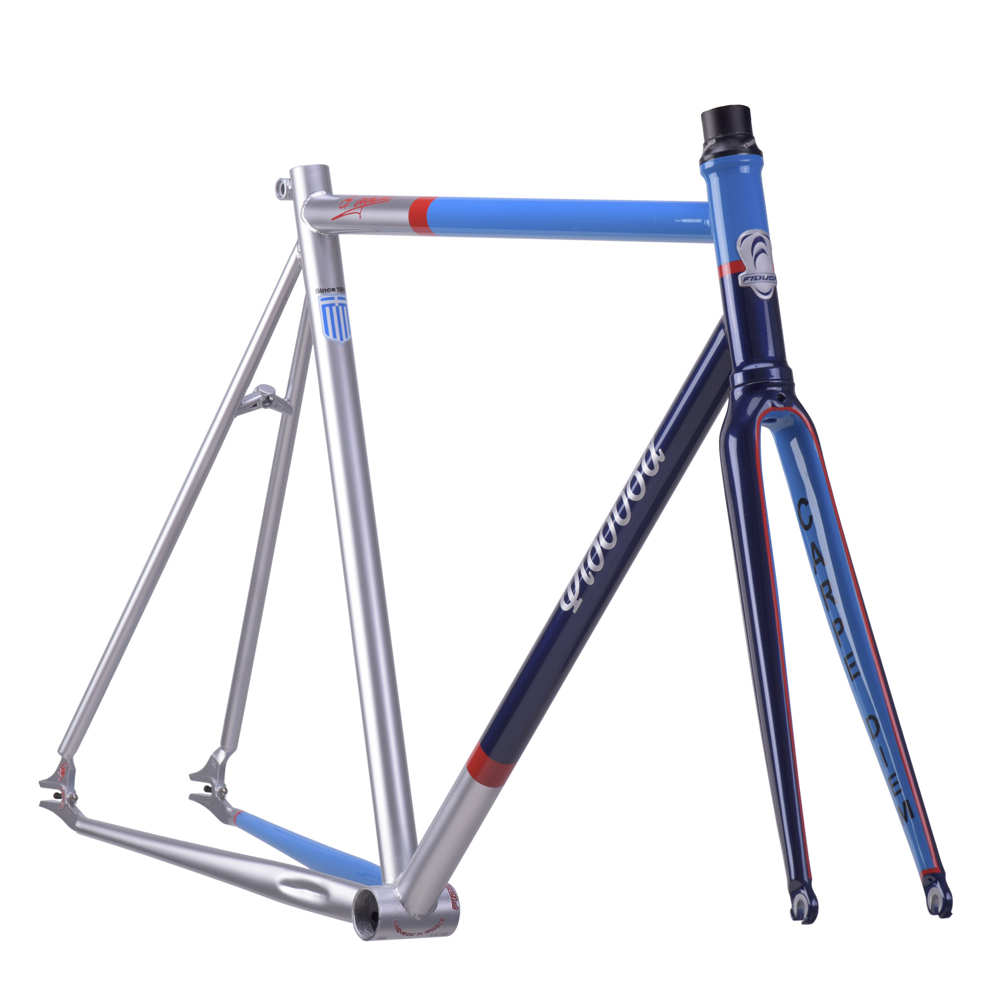 STATHIS-FIX-FRAME-CLEAR O Single Speed σκελετός του Στάθη