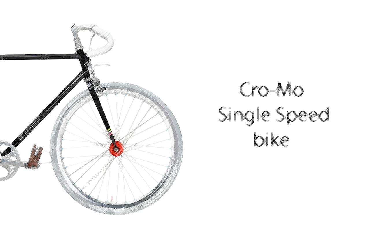 Single-Speed-Bike-black-land-scetch-ENG Cro-Mo Single Speed