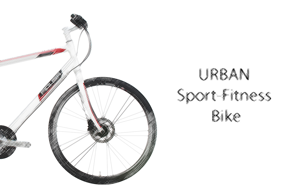 URBAN-WHITE-2014-BIKE-land-scetch-ENG Το ποδήλατο Fitness URBAN