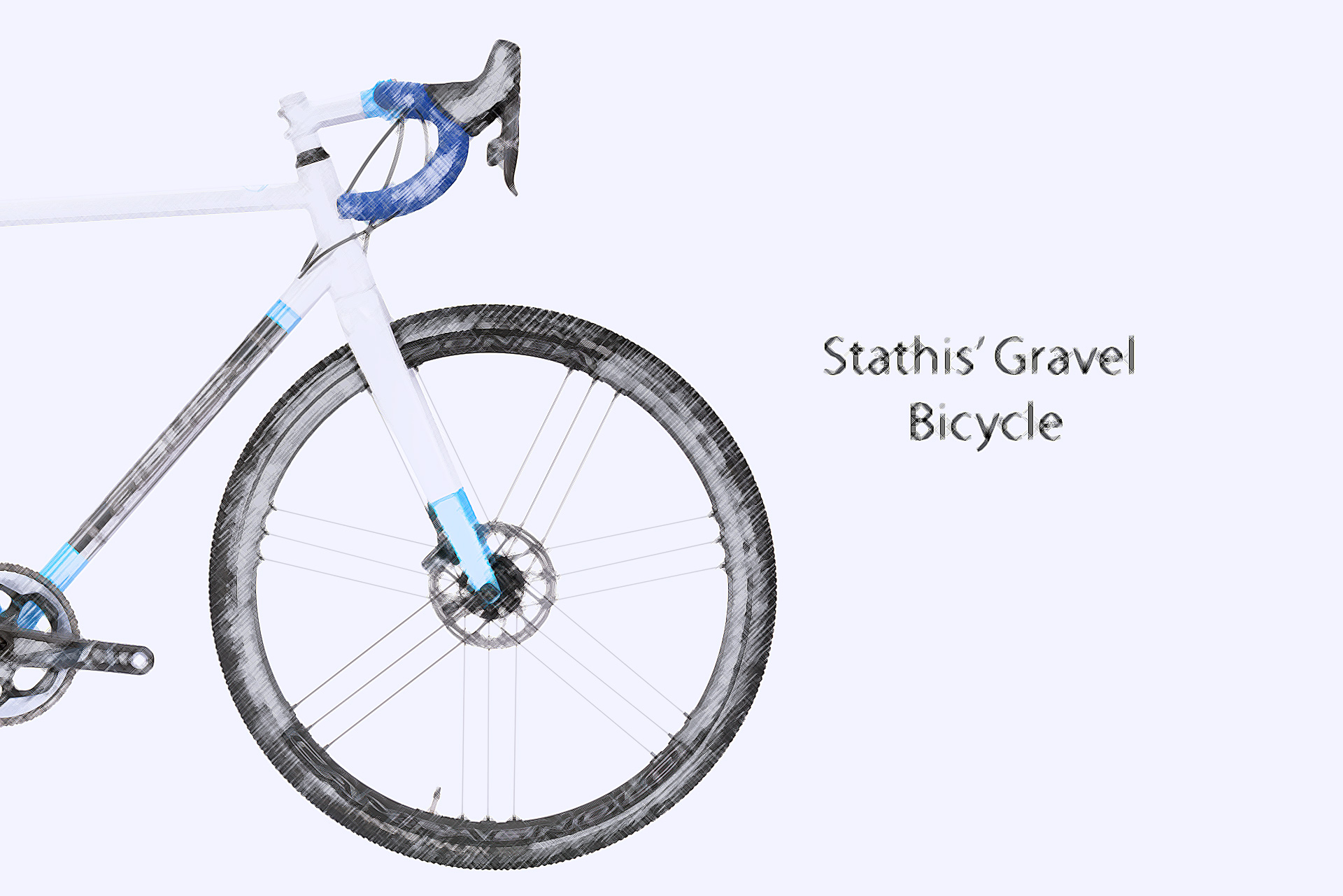 Gravel-Bicycle-Columbus-XCR-Eng Stathis' Gravel Bicycle