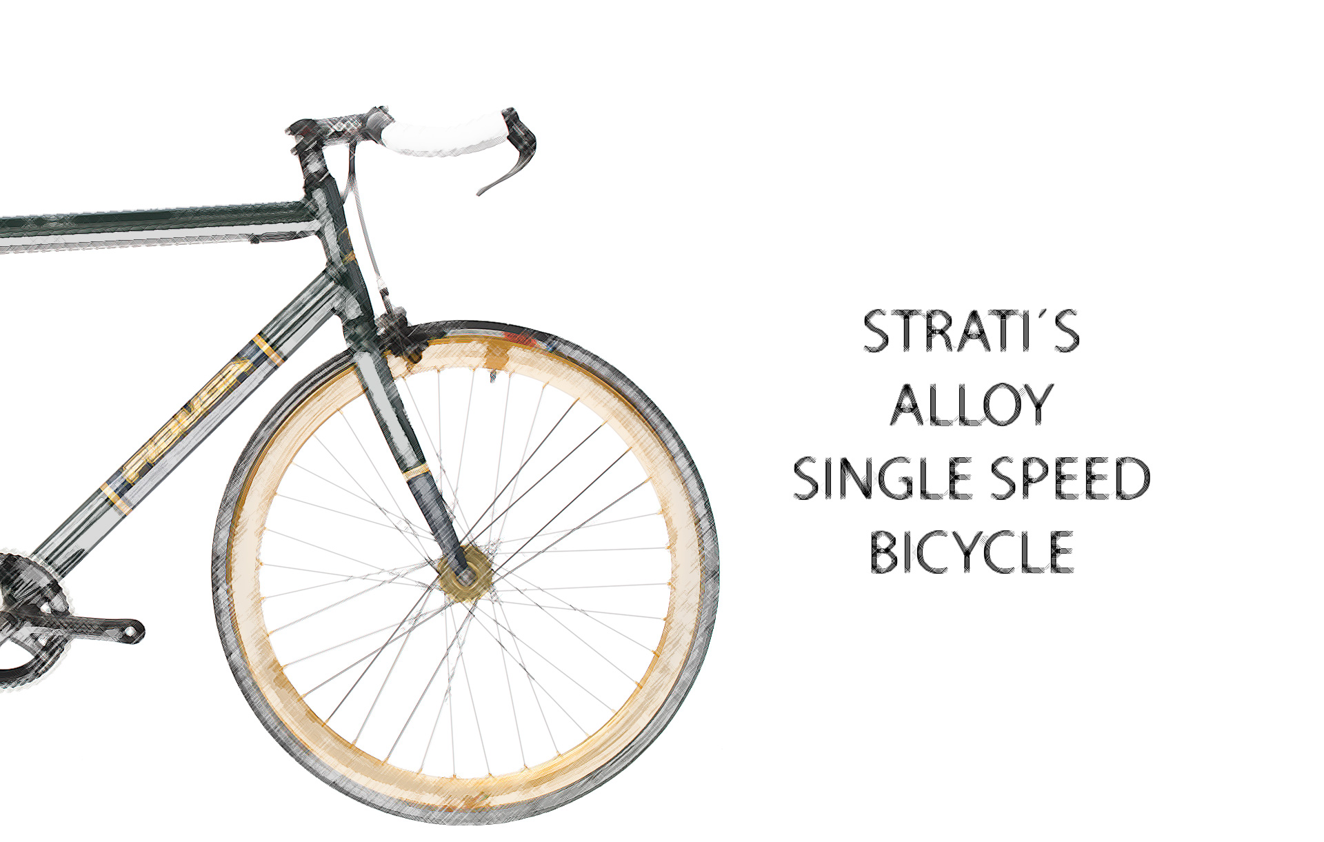 alloy-single-speed-bicycle1 Strati's Alloy Single Speed Bicycle