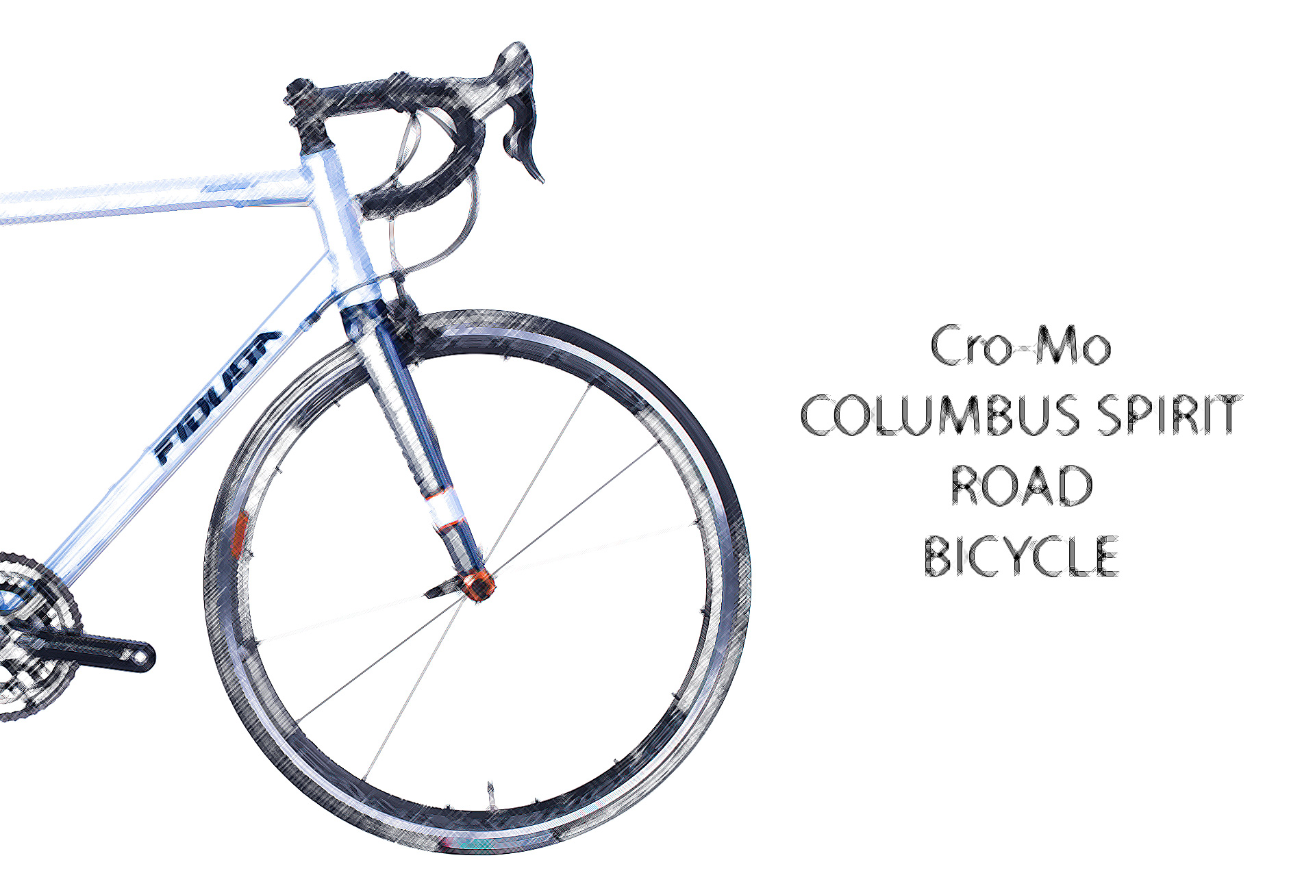 Cro-Mo-Columbus-Spirit-Road-Bicycle-5 Cro-Mo Columbus Spirit Road Bicycle