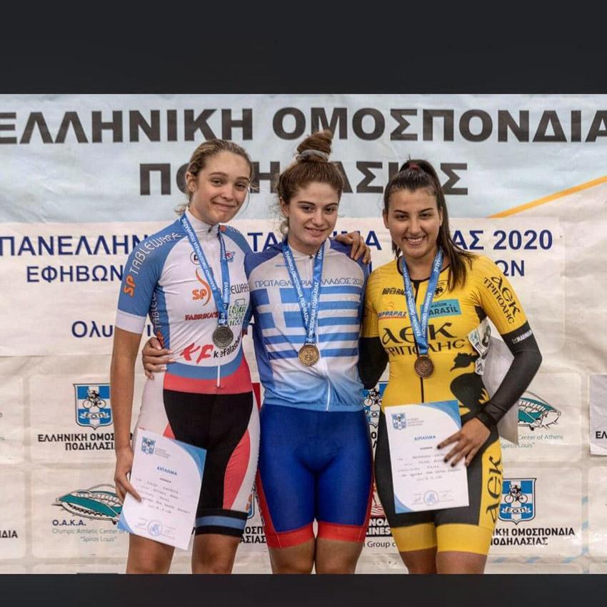 Mpenta-Athens-2 Ακόμα τρία χρυσά μετάλλια για τα ποδήλατα Fidusa!!! Νέα