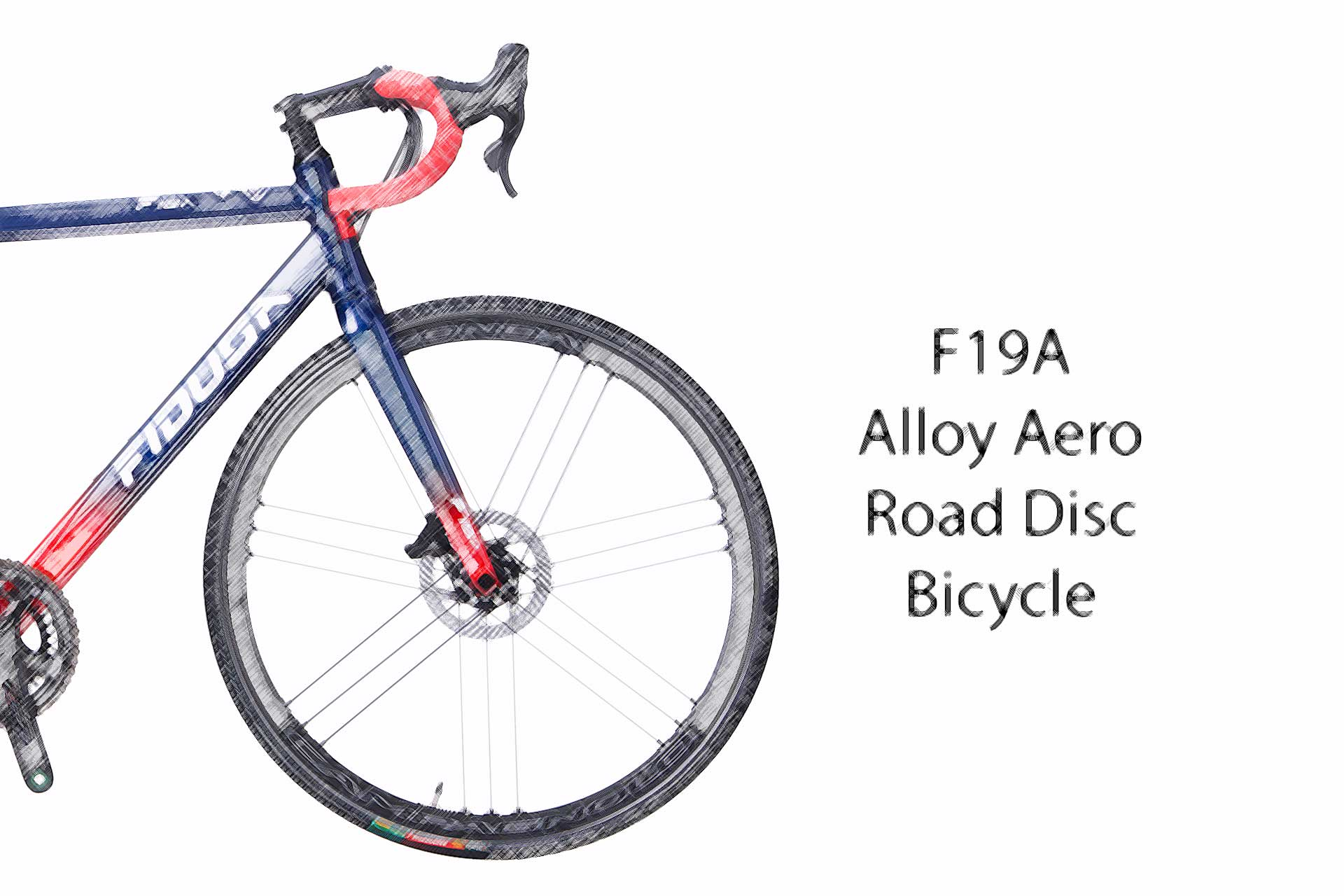 STATHIS-ALLOY-land-CLEAR-ENG F19A Alloy Aero Road Disc Bicycle