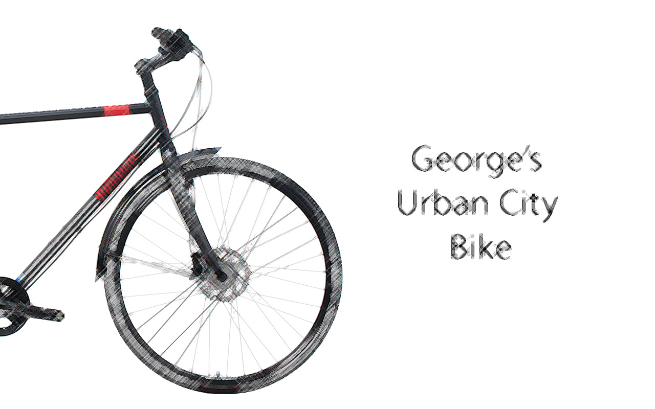-CR-MO-SCETCH-ENG George's Urban Cro-Moly City Bike