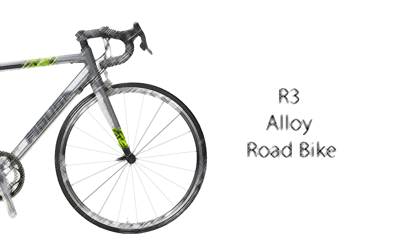 R3-SCETCH-ENG Fidusa R3 Alloy Road Bike